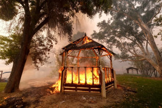 Couples and Wedding Planners Seek New Sites During California Wildfires
